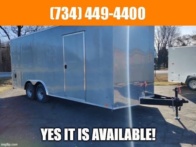 2022 Look Trailers 8.5X20 Enclosed Car Hauler