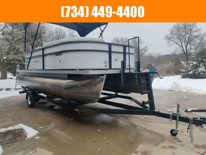 2018 Crest Cruiser 200l 20Ft Pontoon 50HP Pontoon Boat