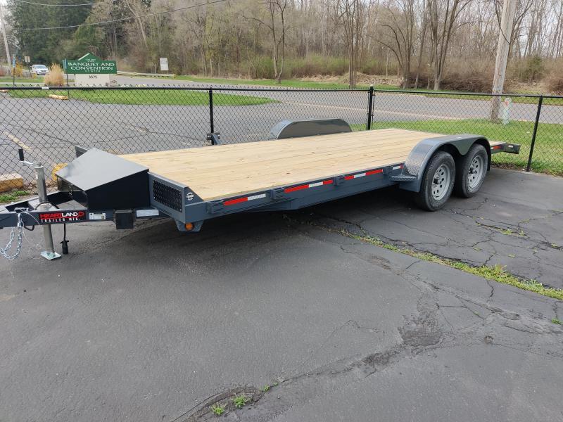 2021 Heartland 20 ft Car Hauler Flatbed Trailer