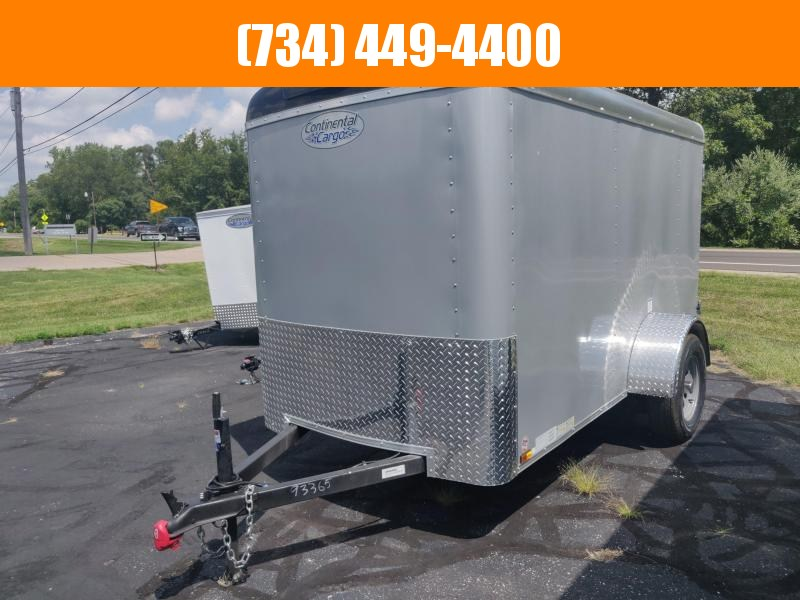 2021 Continental Cargo Tailwind 5x10 Enclosed Cargo Trailer
