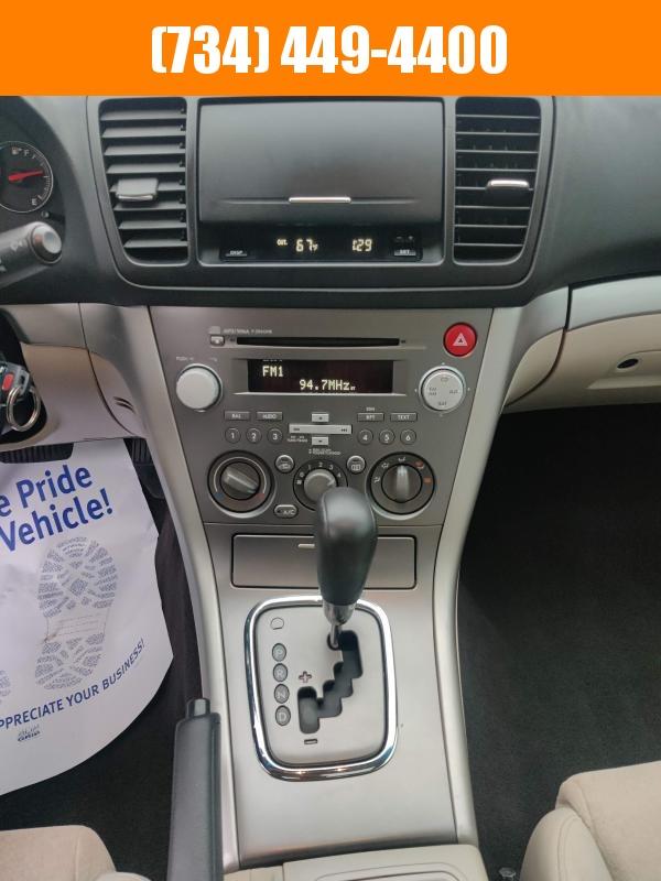 2009 Subaru Legacy Sedan Special Edition Florida Car