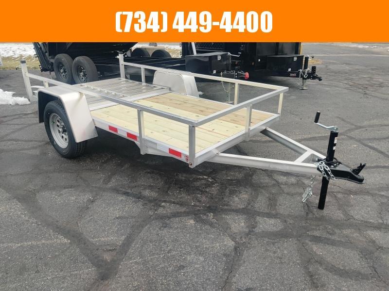2021 Mid America 5x10sa Aluminum Utility Trailer