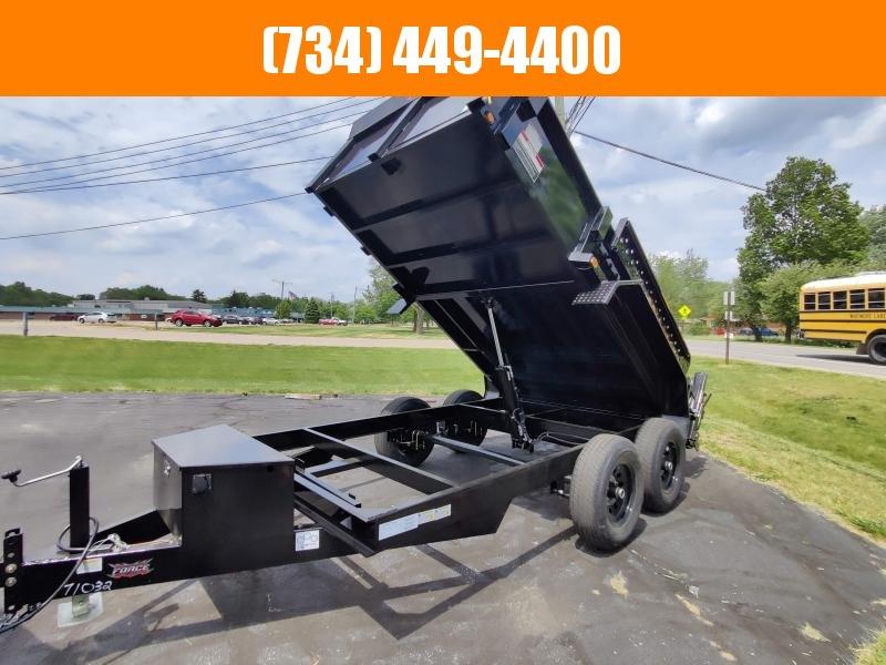 2022 Force 6X12 Hydraulic Dump Trailer Dump Trailer