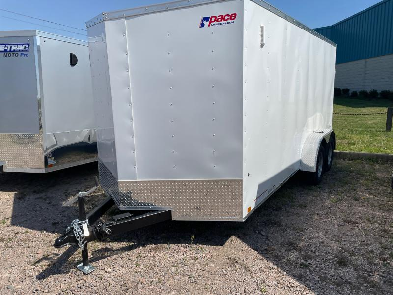 2021 Pace American PSCAB7.0X16TE2FF Enclosed Cargo Trailer