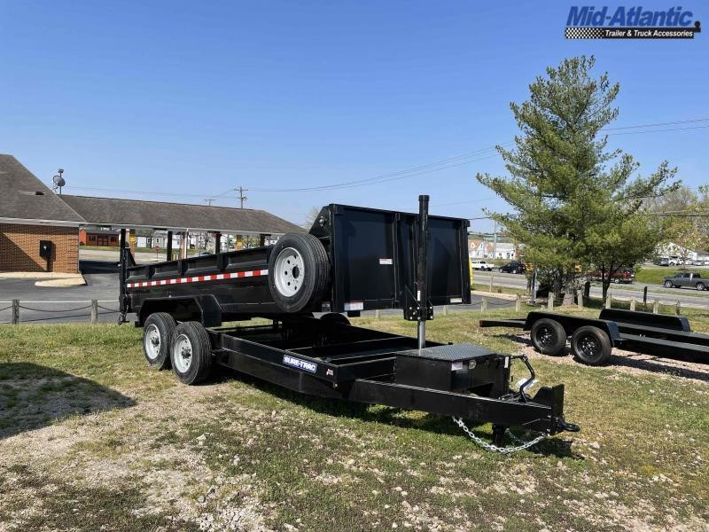 2021 Sure-Trac ST8216TLDD-B-160 Dump Trailer Dump Trailer