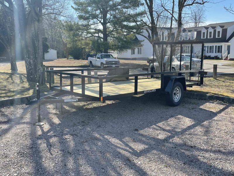 "2021 Holmes 6'4"" x 14' 3.5k Single Axle Commercial Utility Trailer"