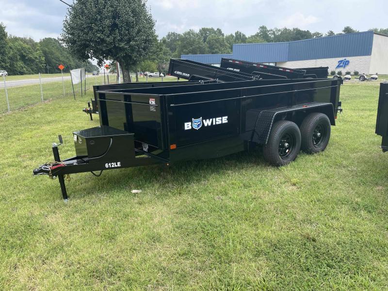 2021 Bri-Mar DT612LP-LE-10 Dump Trailer Dump Trailer