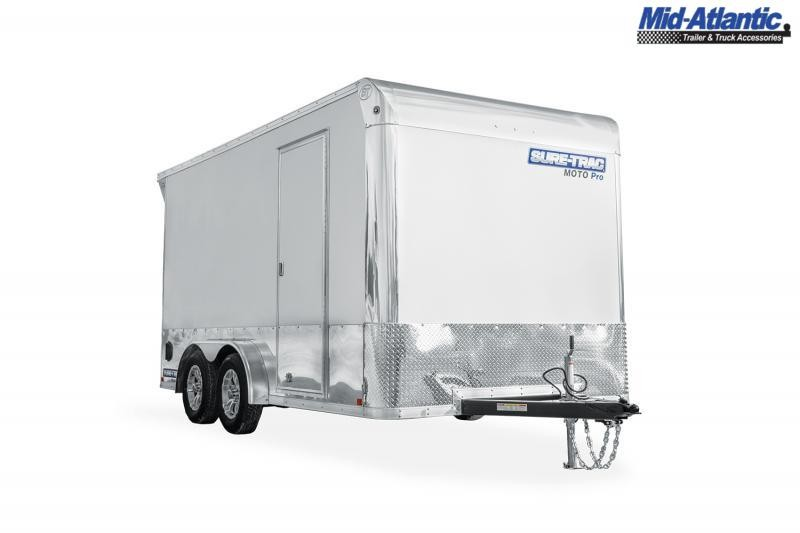 2021 Sure-Trac STWMP9016TA Motorcycle Trailer Motorcycle Trailer