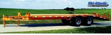 2020 Hudson Brothers HTD18D - 10 Ton Capacity Equipment Trailer Equipment Trailer