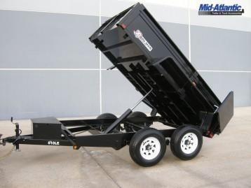 2021 Bri-Mar DT610LPLE10A Dump Trailer