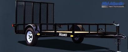 "2021 Holmes 6'4"" x 10' 3.5k Single Axle Utility Trailer"