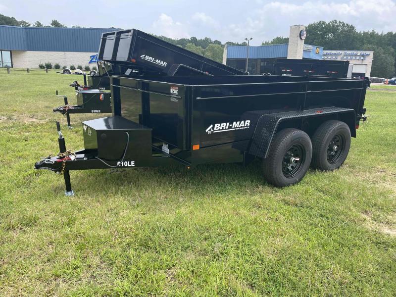 2022 Bri-Mar DT610LP-LE-10 Dump Trailer Dump Trailer