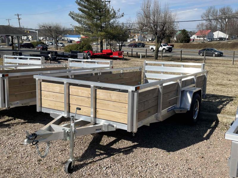 2021 Sure-Trac ST7212WS-A-030 Aluminum utility Utility Trailer