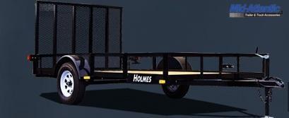 "2021 Holmes 6'4"" x 10' 3.5k Single Axle Utility Trailer Utility Trailer"