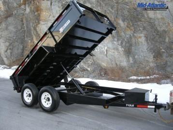 2021 Bri-Mar DT712LP-LE-12 Dump Trailer Dump Trailer