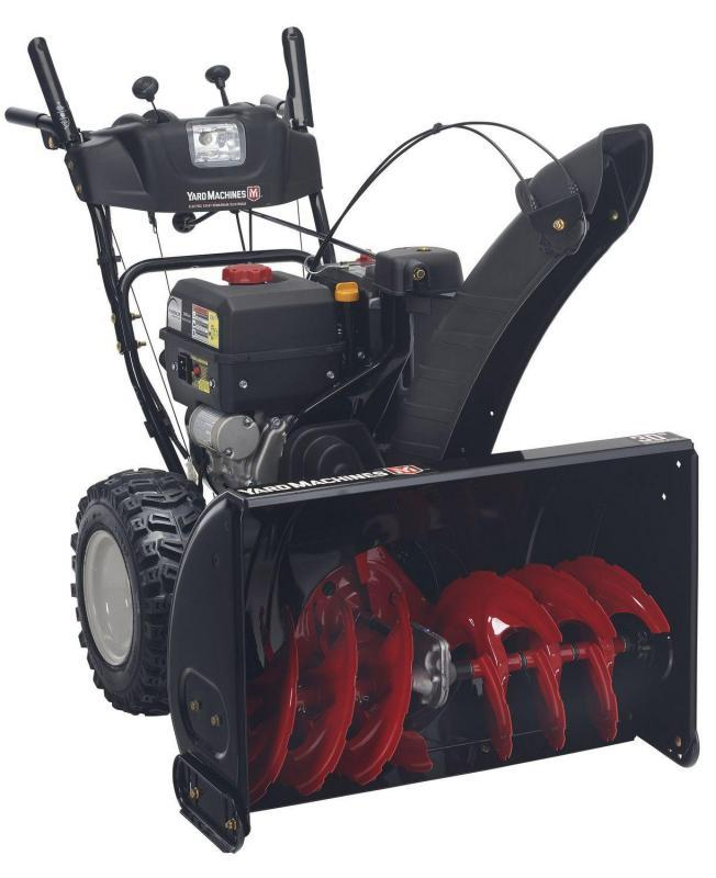 "2021 Yard Machines 2 Stage 30"" Snow Blower"