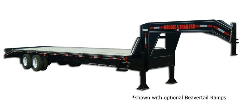 2022 Double A GHB318-36 - 30000 GVW Gooseneck Highboy Trailer