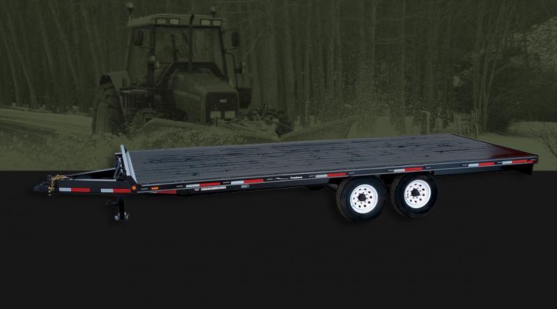 2022 Rainbow Trailers 16' Deck Above w/ 2-5200 lb. Axle Equipment Trailer