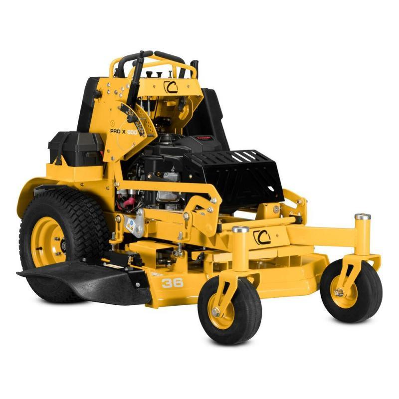 2021 Cub Cadet Pro X 636 Commercial Stand-On Lawn Mower