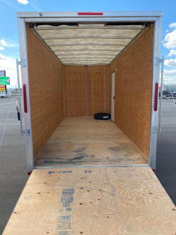 2022 Rainbow Trailers 7 x 16 Aluminum Cargo w/ 2-3500 lb. Axle Enclosed Cargo Trailer