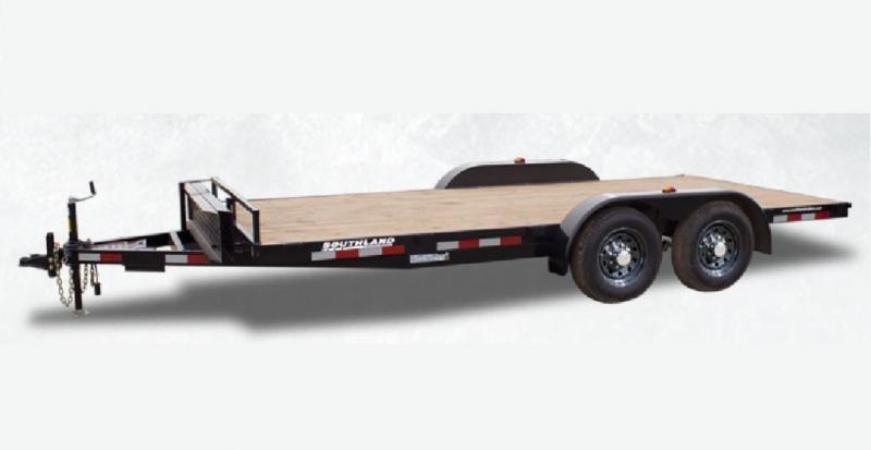 2022 Southland Trailers 16' Lowboy Car Hauler / Equipment Trailer