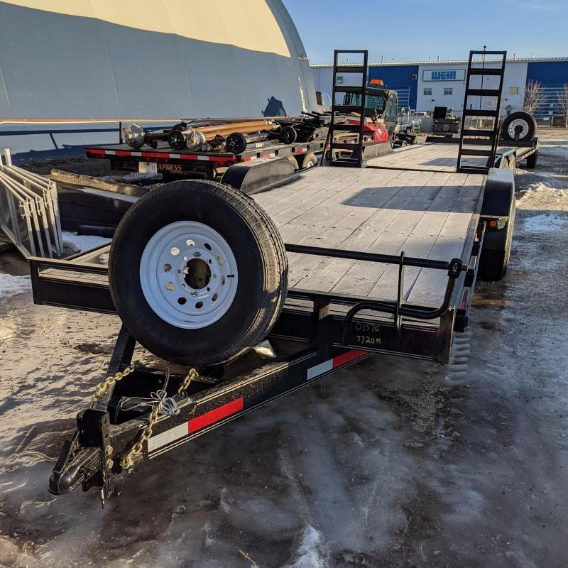 2021 Rainbow Trailers 7720M Flatbed Trailer