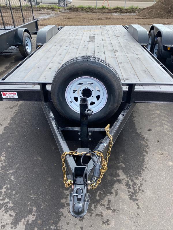 2022 Rainbow Trailers 18' HD Car and Equipment w/ 2-5200 lb. Axle Equipment Trailer