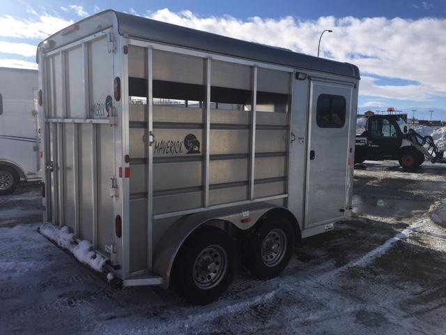 2019 Maverick MAV2H-7K Horse Trailer