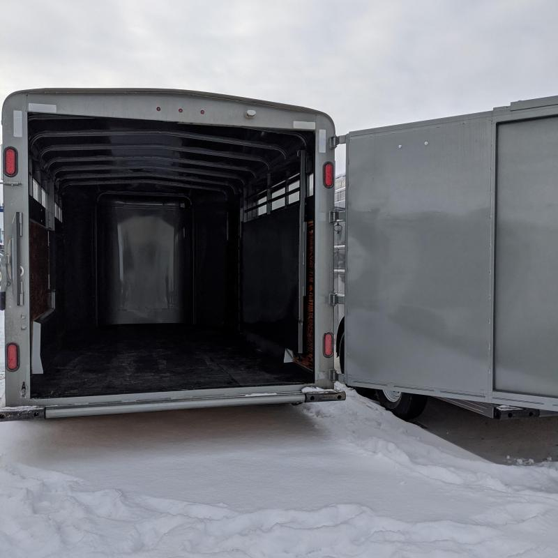2021 Mustang Trailers TL-260X17 Stock Trailer
