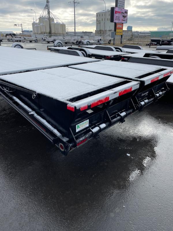 2021 Rainbow Trailers 30' Heavy Deck Above w/ 2-12000 lb. Axle Equipment Trailer