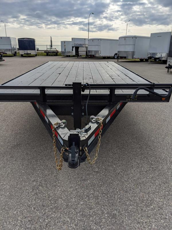 2020 Rainbow Trailers 016A27M Flatbed Trailer