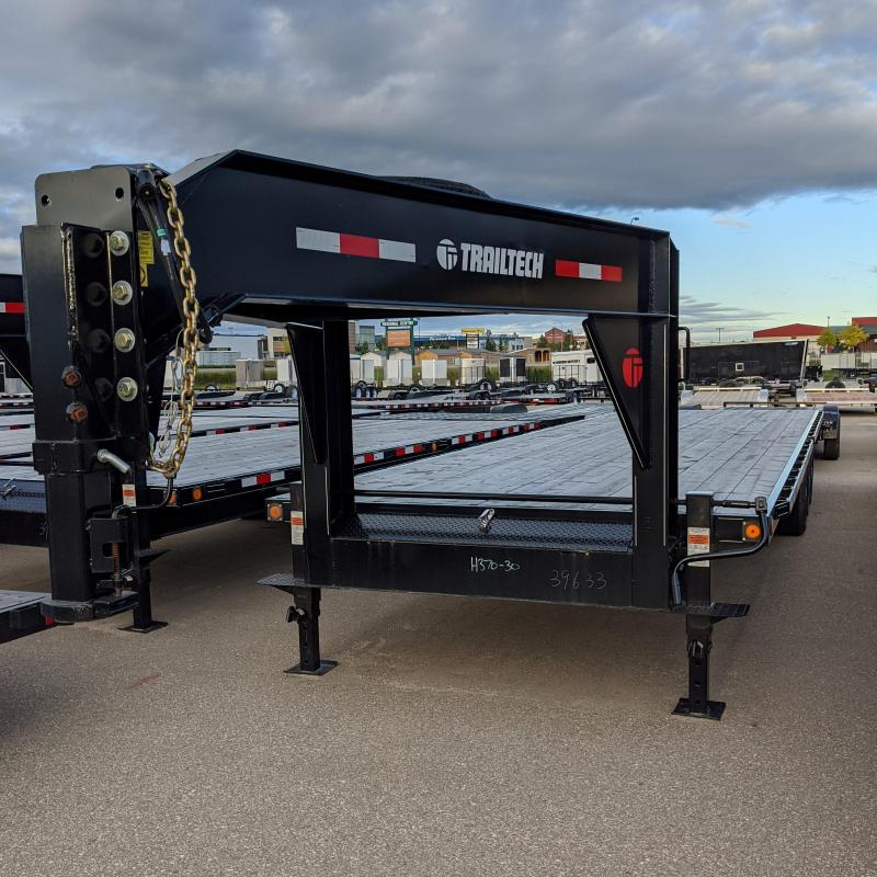 2019 Trailtech H370-30 Flatbed Trailer