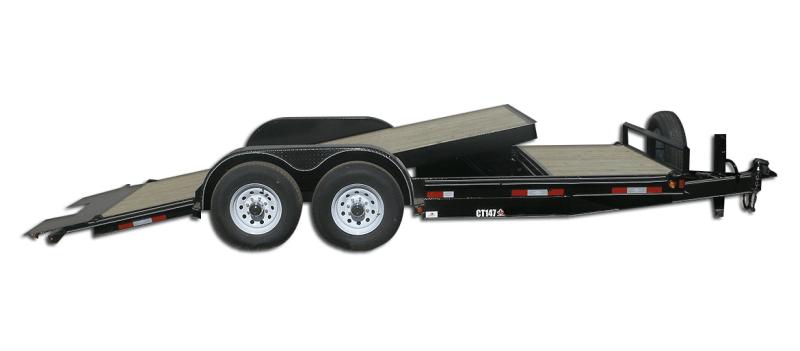 2022 Double A CT147-20' 14000 GVW Cushion Tilt Trailer