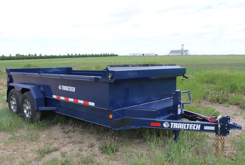 2020 Trailtech L270HD-14 Dump Trailer