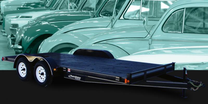 2022 Rainbow Trailers 16' Car and Equipment w/ 2-3500 lb. Axle Equipment Trailer