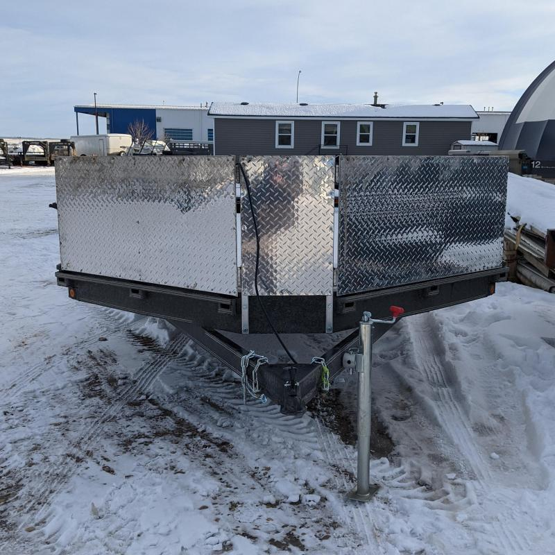 2021 Rainbow Trailers 212A13M Snowmobile Trailer