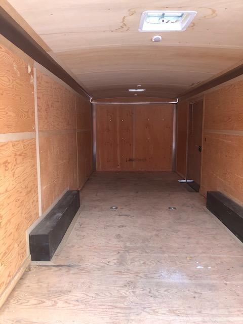 2017 Cargo Mate 24 Ft Enclosed Cargo Trailer