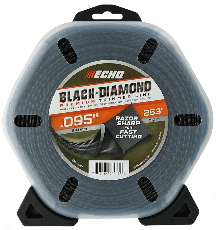 2021 ECHO BLACK DIAMOND .095 TRIMMER LINE