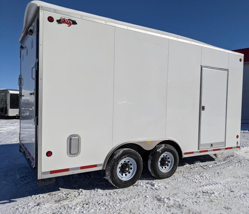 2021 CJay 8 x 16 Enclosed Cargo Trailer