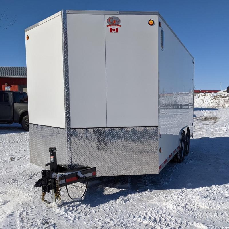 2021 CJay 8 x 16 Enclosed Cargo Trailer