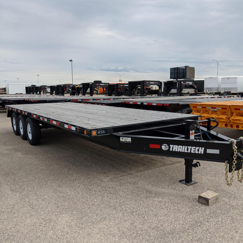 2019 Trailtech H370-22 Flatbed Trailer