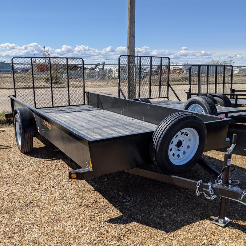 2021 Rainbow 6 x 14 Solid Side Utility Trailer