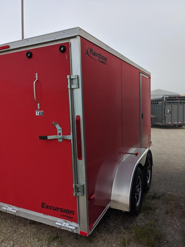 2021 Rainbow Trailers CA7X12A23M Enclosed Cargo Trailer
