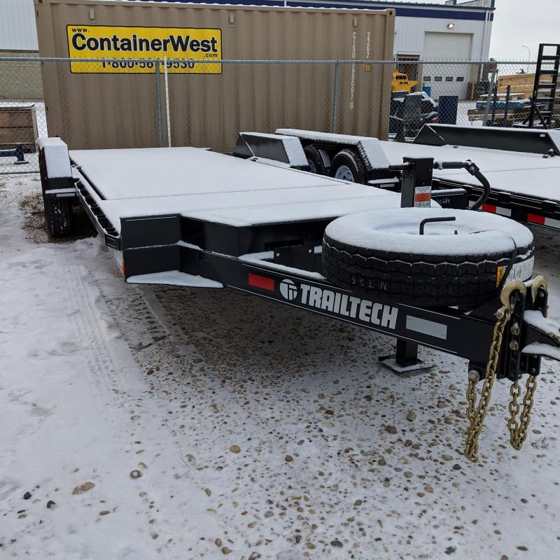 2021 Trailtech L270-20 Equipment Trailer