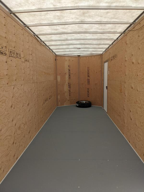 2021 Rainbow Trailers CA7X18A23M Enclosed Cargo Trailer