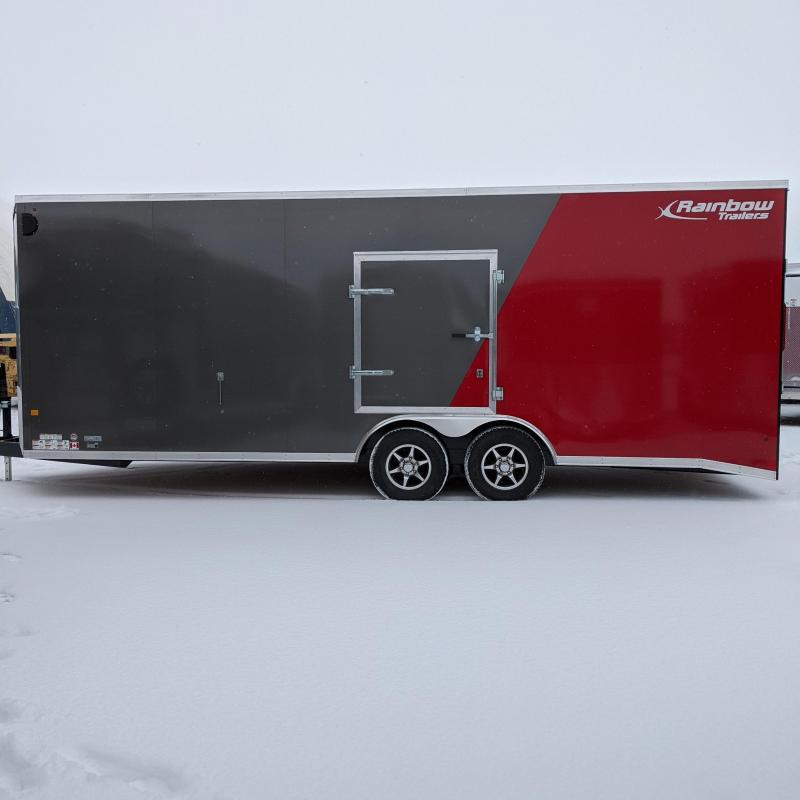 2021 Rainbow 8.5 x 22 Enclosed Cargo Trailer