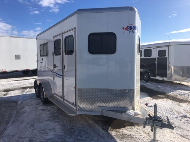 2018 Frontier AMB67TACK Horse Trailer
