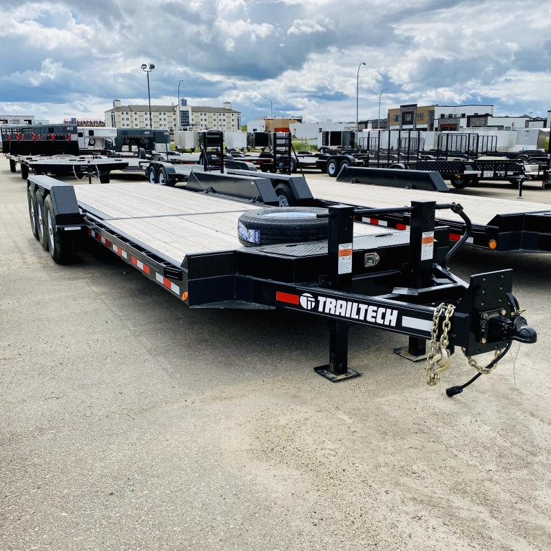2019 Trailtech L370-24 Tilt Flatbed Trailer