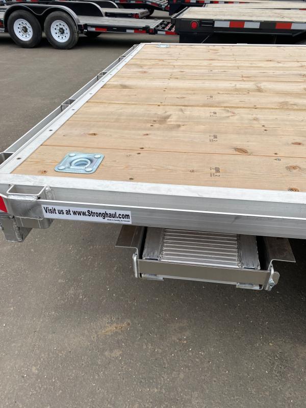 2021 Stronghaul FATDX 16ft Deck Over Utility Trailer