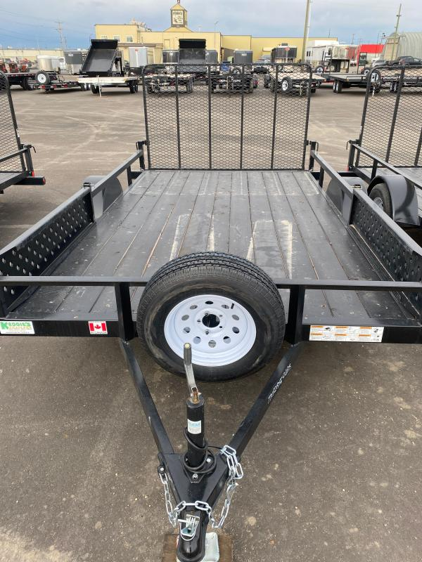 2022 Rainbow Trailers 7 x 12 Ramp Side w/ 3500 lb. Axle Utility Trailer